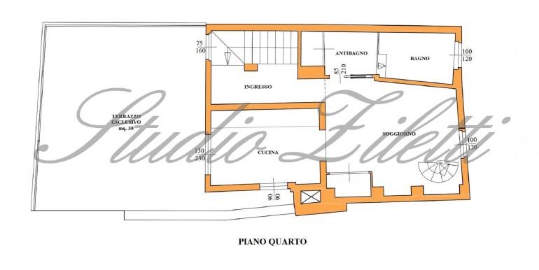 Planimetria 4° piano