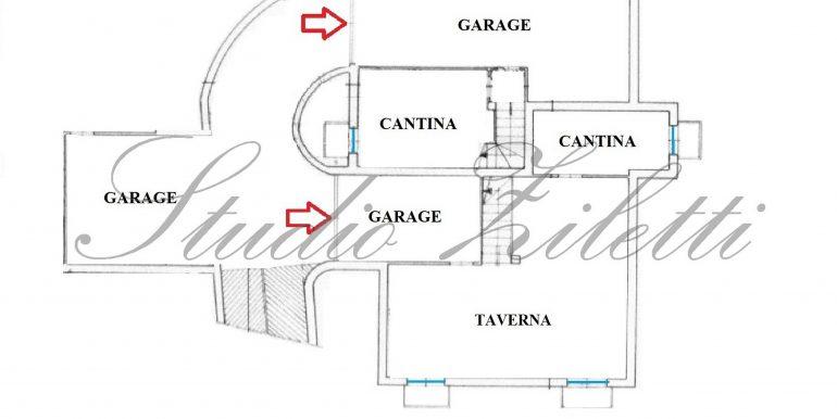 1 - Piano interrato - Villa INTERA