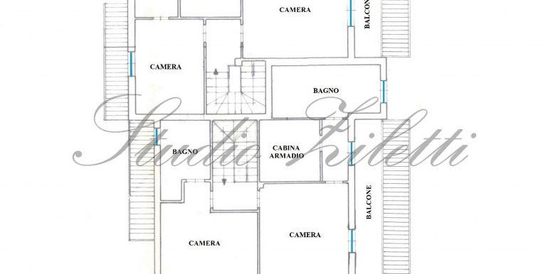 1 - Piano primo - Villa INTERA