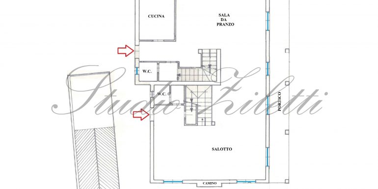 1 - Piano terra - Villa INTERA